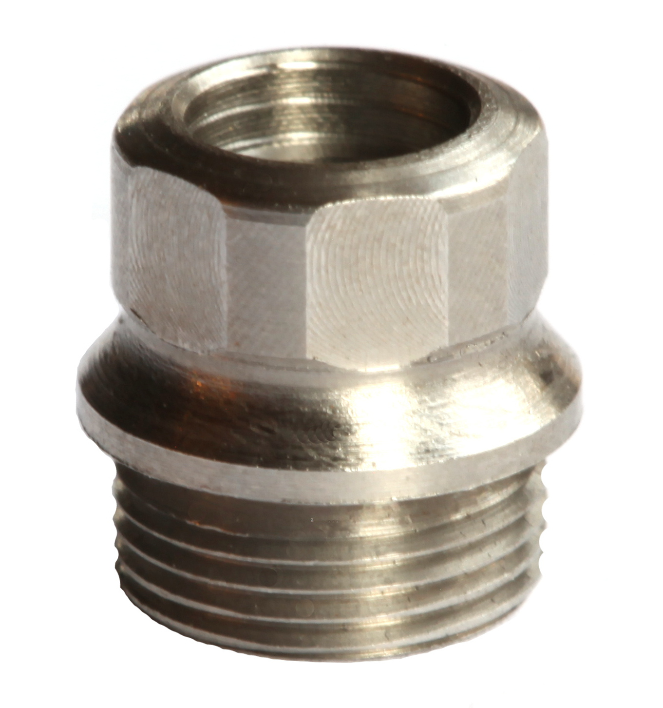 Hex drive bushing full size stainless pieces b fss