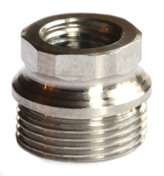 Hex Drive Bushing, Repair (oversize), Slim, Stainless, 4 pieces